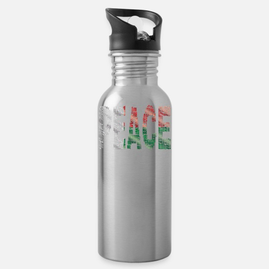 Gift Idea Mugs & Drinkware - Madagascar - Water Bottle silver