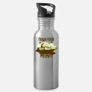 Trains train - Water Bottle