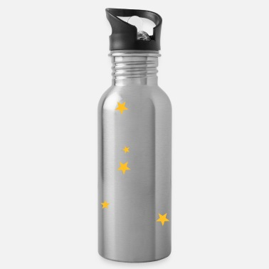 Asterisk Cancer constellation - Water Bottle