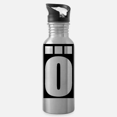 3 Point The main thing Ö 3 points letter - Water Bottle