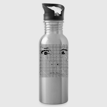 Pixel face - Water Bottle