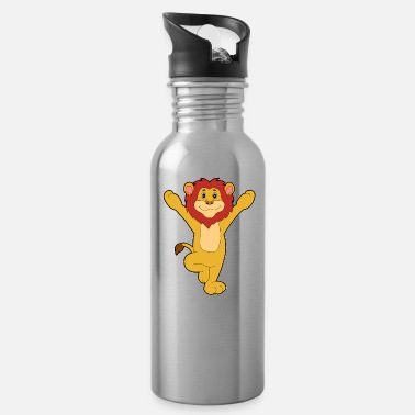 Funny Yoga Funny yoga lion - Water Bottle
