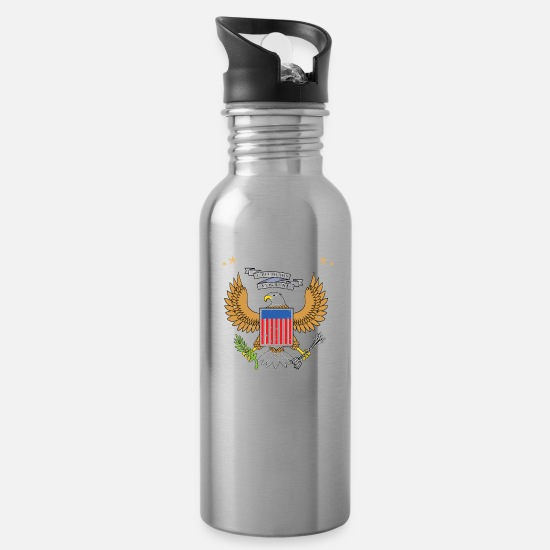 Vietnam Mugs & Drinkware - Vietnam - Water Bottle silver