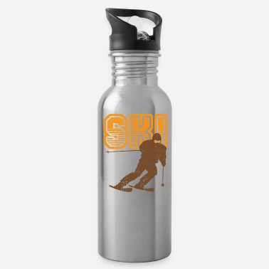 Slalom Ski slalom sport - Water Bottle