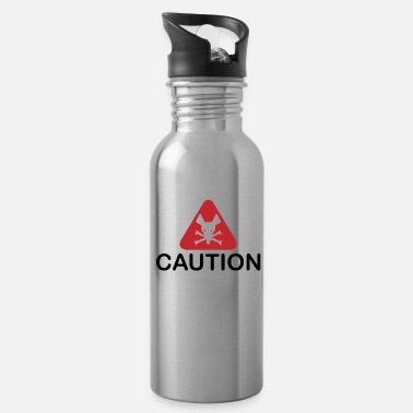 Caution Caution - Trinkflasche