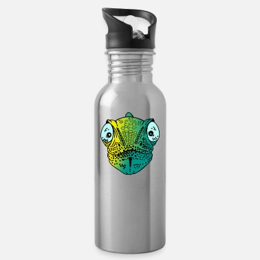 AKE naughty chameleon iguana gecko gift idea - Water Bottle