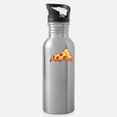 Slice slice baby pizza pizza piece gift - Water Bottle