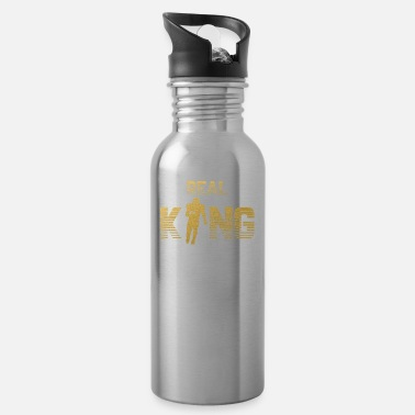 Quarterback Real King - Football Quarterback - Water Bottle