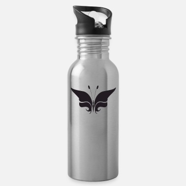 Illustration Butterfly illustration - Water Bottle