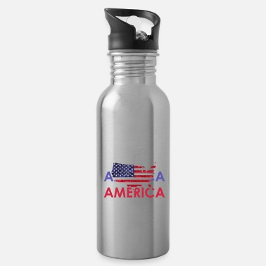 Usa US Flagge 2020 - Trinkflasche
