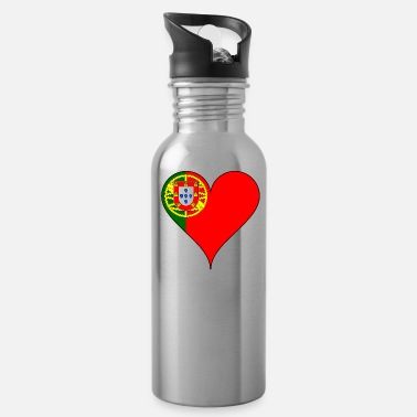 Portuguese Portuguese Heart - Water Bottle