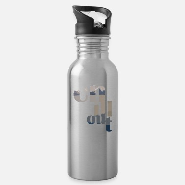 chill out T-Shirt - Trinkflasche