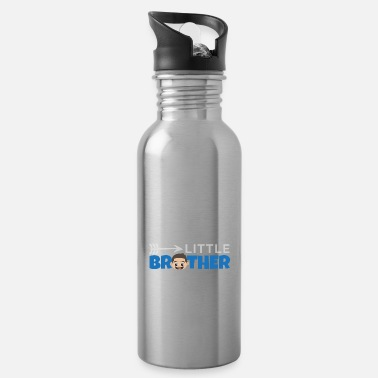 Twins Little Brother with Arrow - Gift idea - Water Bottle