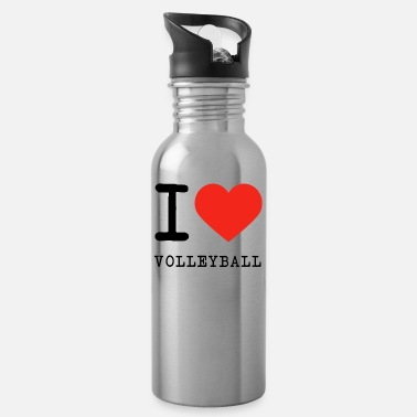 I Love Volleyball I love volleyball - Water Bottle