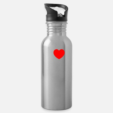 Bad Beat I love Bad Beats - Poker Geschenkidee - Trinkflasche