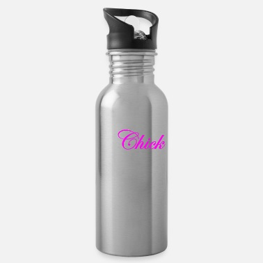 Rock Rock Climbing Chick - Water Bottle
