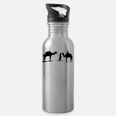Sibosssr beduin with camel - Water Bottle