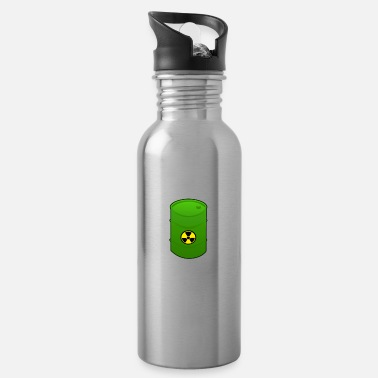 Nuclear Waste Nuclear waste barrel - Water Bottle