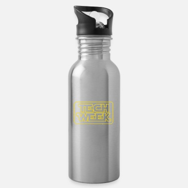Charade May The Tech Week Be With You Funny Gift - Water Bottle