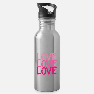 Loves Love Love Love Love - Water Bottle