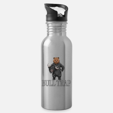 Share Stock Purchase Stock Exchange Bulle Bear Price Investing - Water Bottle