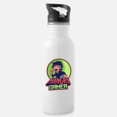 Esport Hangry Gamer Manga Anime Boy Esport Logo Regalo - Cantimplora