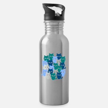 Cat Cats, cats, cats - Water Bottle