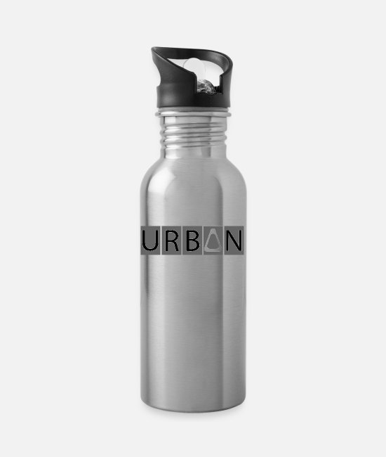Urban Mugs & Drinkware - urban - Water Bottle silver