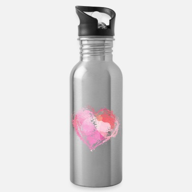 heart - Water Bottle