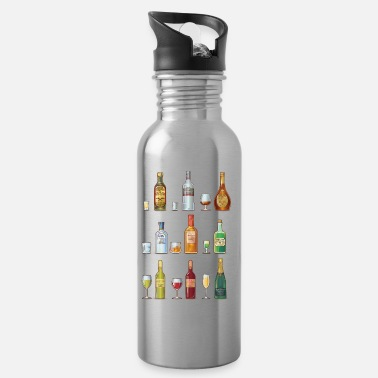 Alcoholic alcohol - Water Bottle