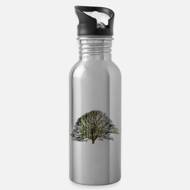 Texturas The tree and the earth - Water Bottle