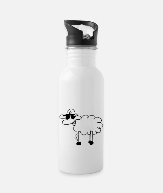 Game Over Mugs & Drinkware - Time Cop - Water Bottle white