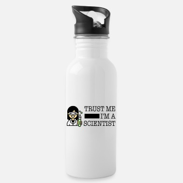 Trust me I'm a scientist female Asian - Water Bottle
