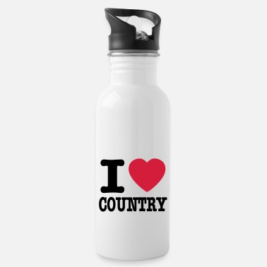 Country i love country / i heart country - Drikkedunk