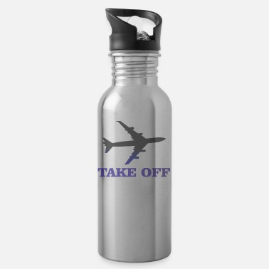 Take-off-plane take off plane 3 - Water Bottle