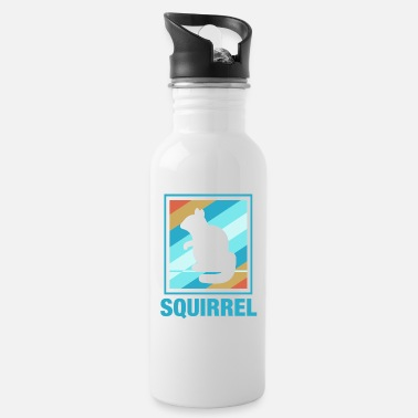 Squirrel Vintage Squirrel design Gift for Whisperer Lovers - Water Bottle