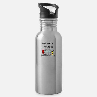 Race Born To Race Racing - Water Bottle