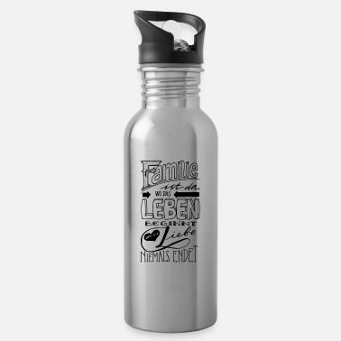 Familie family - Water Bottle