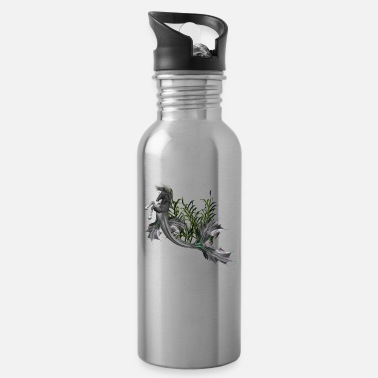 Swimming Mane Awesome seahorse - Water Bottle