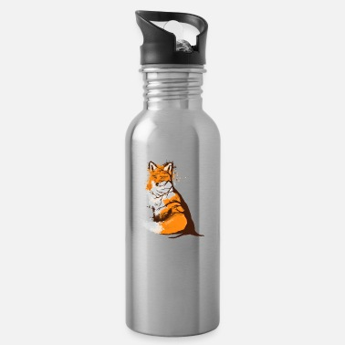 Best Of Red fox fall design for wildlife lovers - Water Bottle