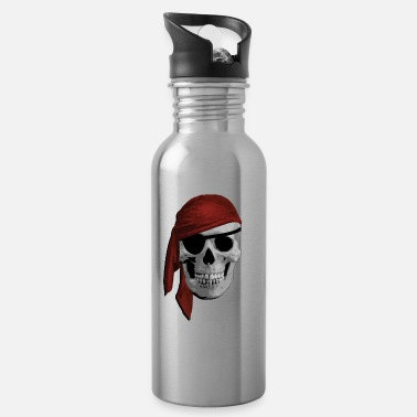 Pirate Cloth Pirate skull - Water Bottle