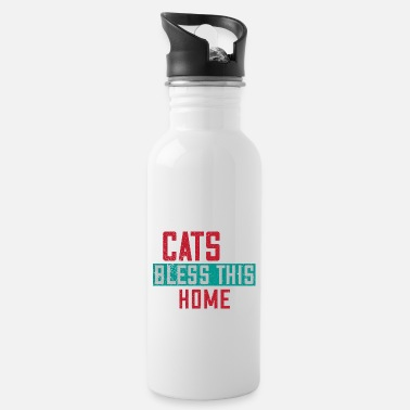 Scratch Cat Cats Cat Lover Hangover Gift 20 - Water Bottle