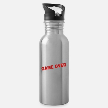 Game Over Game over - the game is over - Water Bottle