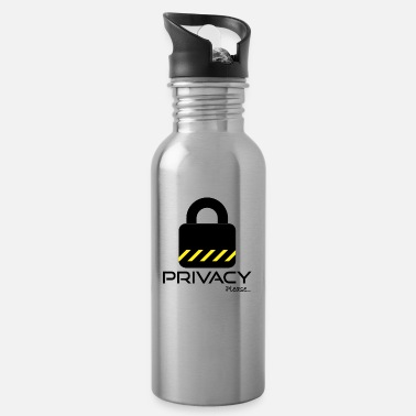 Please Privacy Please Please ... privacy please ... - Water Bottle
