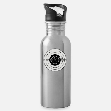 Cartridges Egoshooter Gun target - Water Bottle