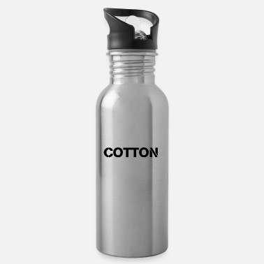 Cotton Cotton cotton tshirt - Water Bottle