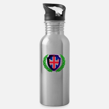Bainderas Coat of Arms United Kingdom - Water Bottle