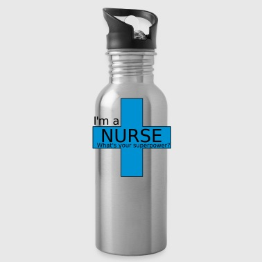 Nurse Superpower - Water Bottle