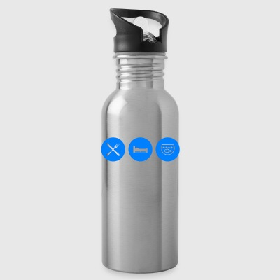 Eat Sleep Aquarium - Water Bottle