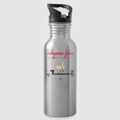 no matter cool auntie aunt gift Egypt png - Water Bottle